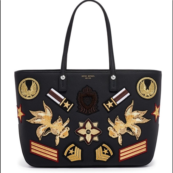henri bendel Handbags - HENRI BENDEL MILITARY PATCH PURSE